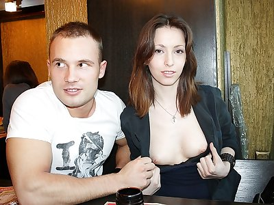 Real girl picked up for fuck in public